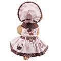 Armi store Butterfly Pattern Dog Dresses Dogs Princess Dress 6071052 Pet Puppy Supplies Dress Hat Panties