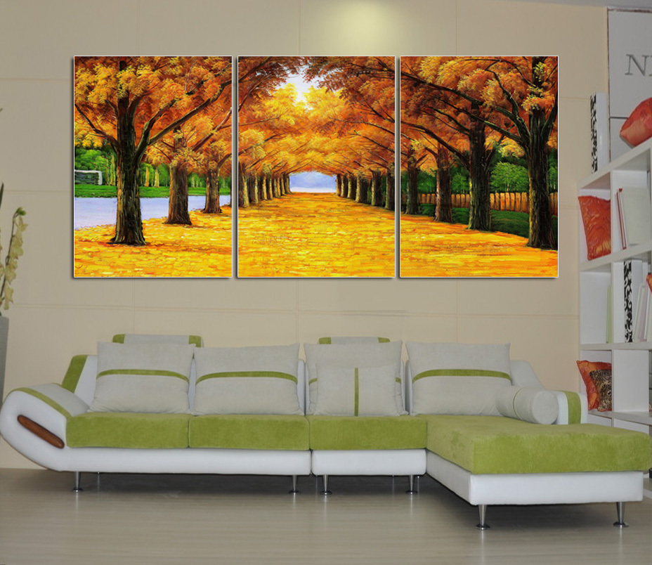 Modern wall stickers decorative painting frame painting for Contemporary wall mural
