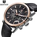 Reloj Hombre 2016 BENYAR Fashion Chronograph Sport Mens Watches Top Brand Luxury Military Quartz Watch Clock