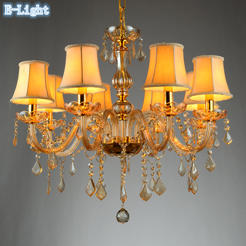 Glass Crystal Chandelier Light For Kitchen