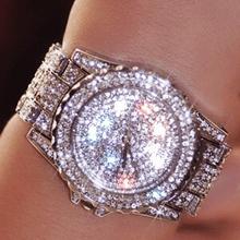 Buy Luxury Women Watches Fashion Woman Rhinestone Watch Austria Crystal Ceramic Watches Female Quartz Wristwatches Lady Dress Watch for $12.89 in AliExpress store