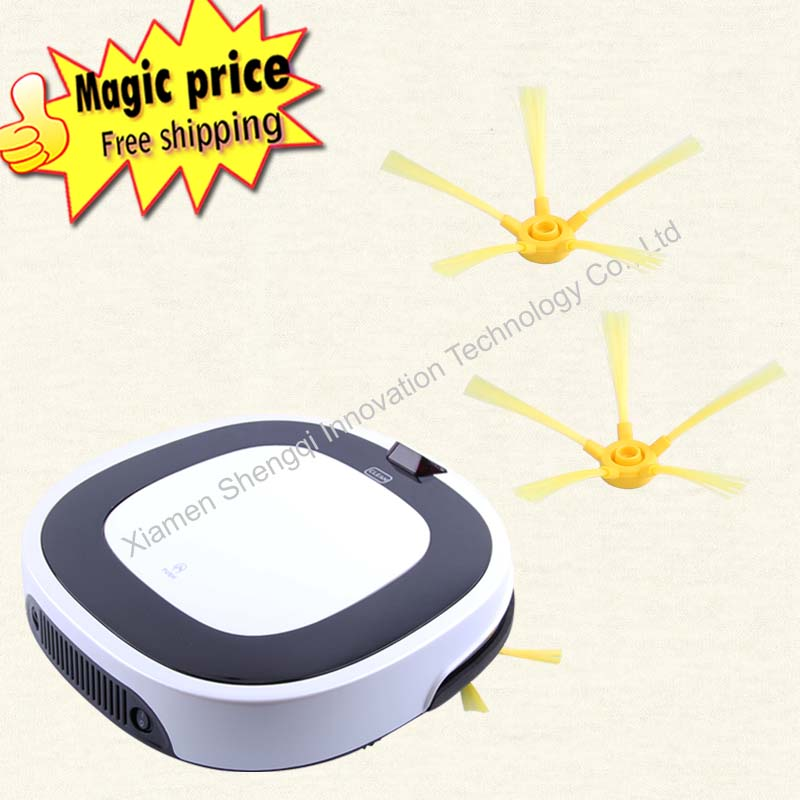 Multifunction Robot Vacuum Cleaner with LCD Touch Screen (Sweep, Vacuum, Mop, Sterilize) rainbow cleaner for home(China (Mainland))