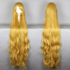 Kagerou Project Sakura Jasmine Marry Long Light Blonde Wavy Cosplay Wig ynthetic queen brazilian womens hair no lace Front Wigs<br><br>Aliexpress