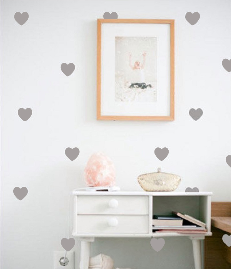 Little Hearts Wall Stickers Wall Decals Removable Home