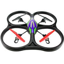 Kids toys Remote Control Flight Simulator Real Quadrocopter Dron Rc Simulator Usb 2.4g airplane four aircraft UFO model V262