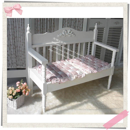 European white garden Double carved benches Benches Princess casual chair wood sofa chair<br><br>Aliexpress