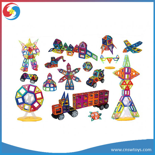 JS2706671 2015 Children's toys plastic magnetic building blocks splicing toy Magneitc Construction Toys 198 Piece - Starworld Arts & Crafts Co., Ltd. store