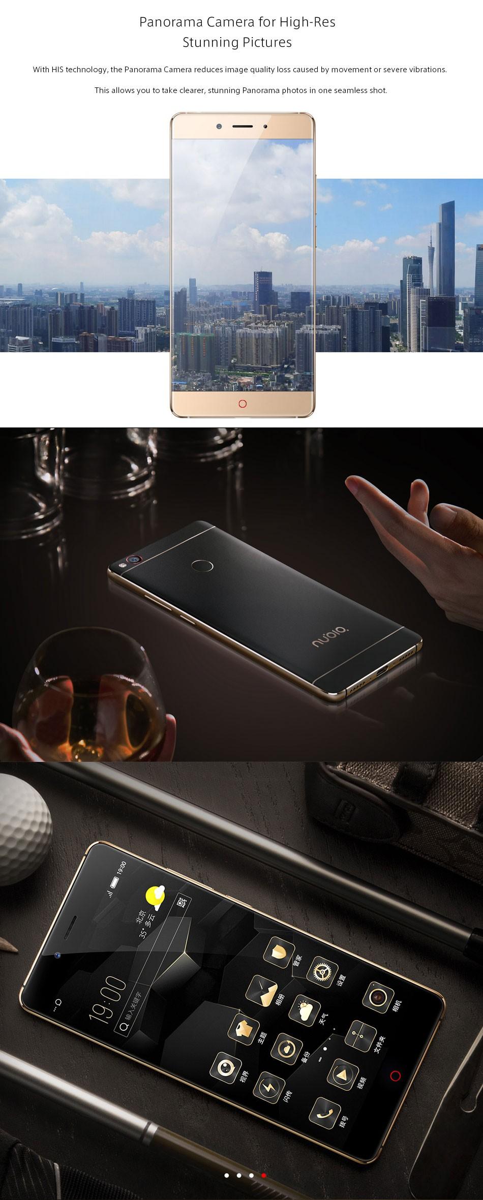 "image for Original ZTE Nubia Z11 5.5"" Borderless 4GB/6GB RAM 128GB/64GB ROM Mob"