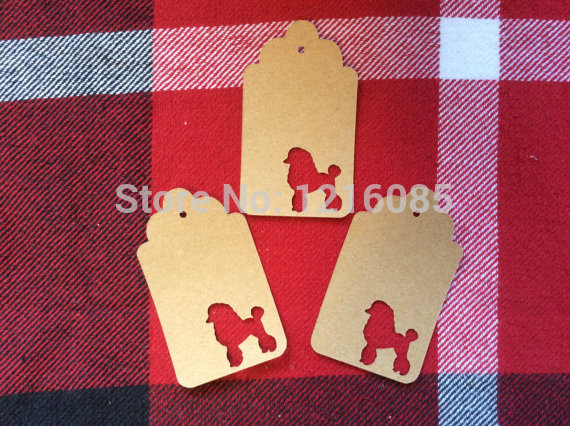 popular Scottish Terrier Tag/Wishing Tree Tags/Gift Tags Thank You Tags for Confirmation, wedding birthday party Favor Tags(China (Mainland))