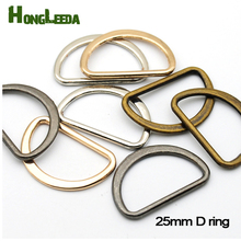 Buy 60pcs/lot 1 inch 25mm metal flat alloy D Dee Ring adjustable buckles DIY accessories shoes bag webbing strap FDR-25mm for $8.00 in AliExpress store