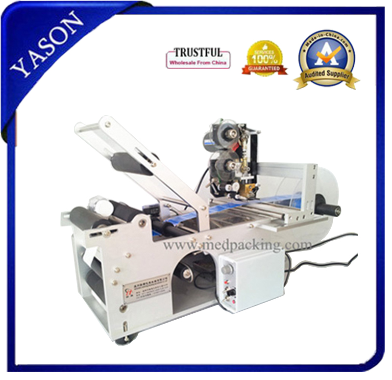 Hot selling Round Bottle Labeling Machine Label high precision grind - YASON GENERAL MACHINERY CO.,LTD store