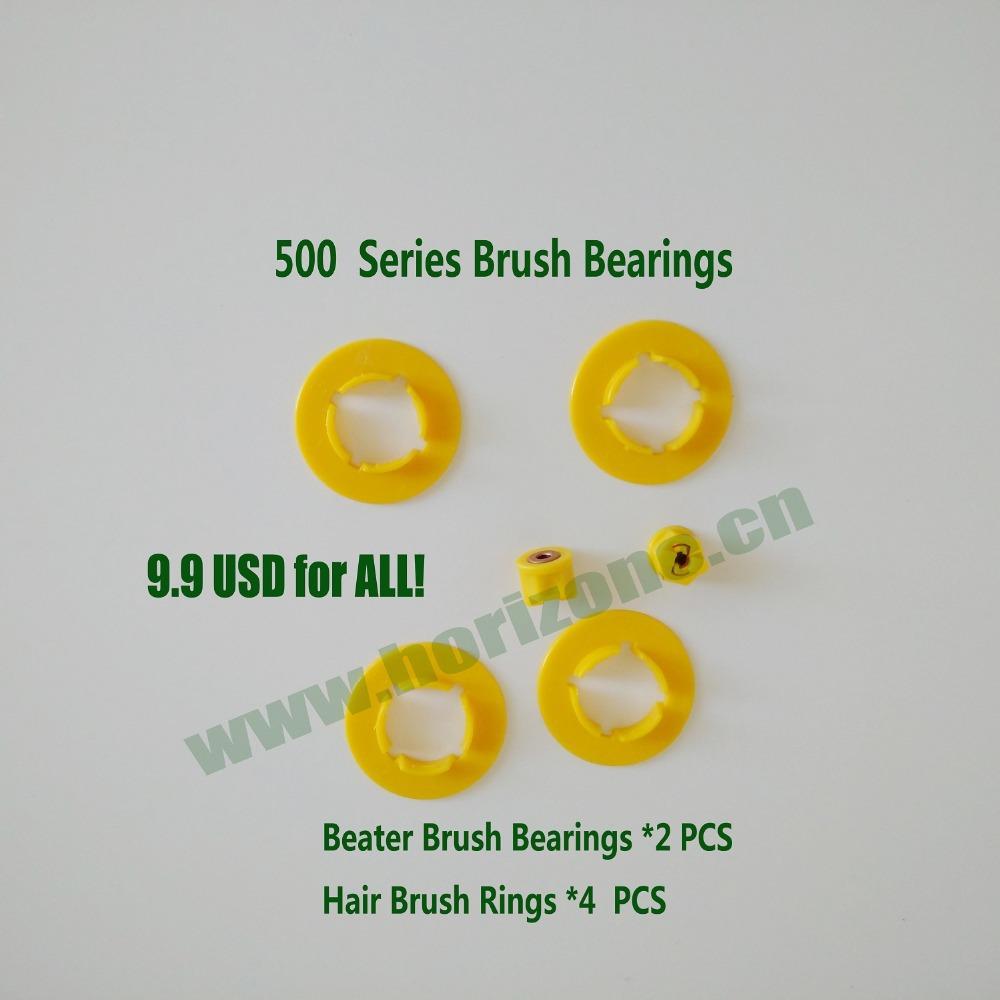 2 Pairs of Brush Bearings for iRobot Roomba 500 560 570 530 series Robotic Vacuum Cleaner(China (Mainland))