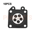 10PCS Carburetor Metering Diaphragm For Walbro 95 526 95 526 9 95 526 9 8