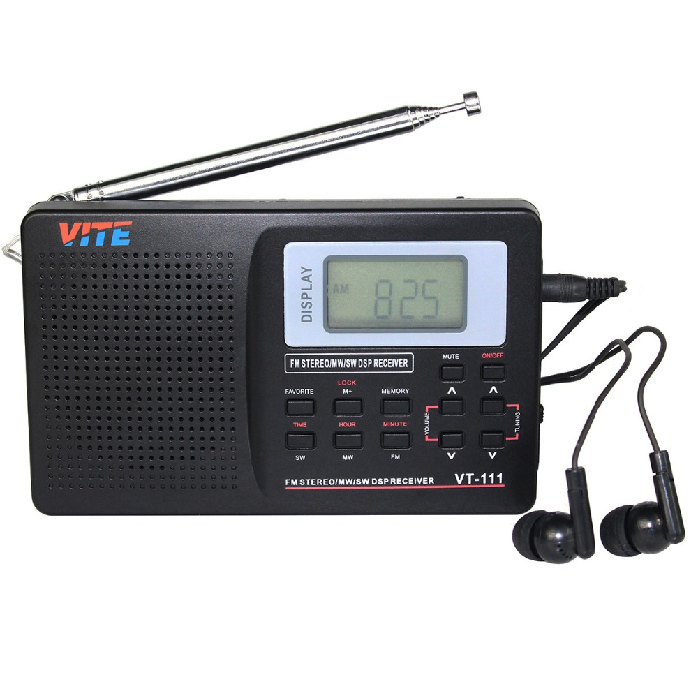 buy portable fm radio dsp fm stereo mw. Black Bedroom Furniture Sets. Home Design Ideas