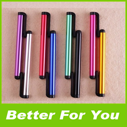 Hot Sale 1000pcs/l Capacitive Touch Screen Stylus Universal Touch Pen Ffor iPad iPhone Samsung HTC DHL Fedex(China (Mainland))