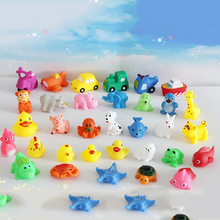 10Pcs/Lot baby kids water toys swimming pool accessories for kids piscine vinyl children squeezed small gifts called vocal vinyl(China (Mainland))