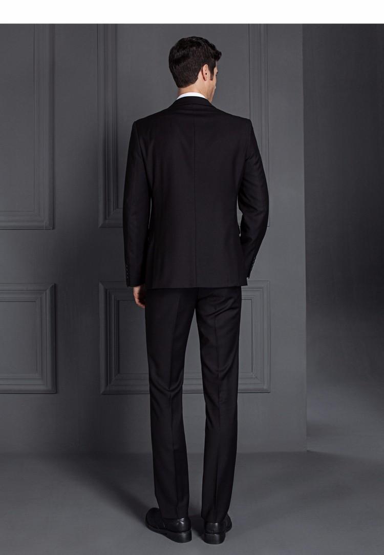 HTB1PPRmPXXXXXbKXFXXq6xXFXXX2 - 2017 Men Business Suit Slim fit Classic Male Suits Blazers Luxury Suit Men Two Buttons 2 Pieces(Suit jacket+pants)
