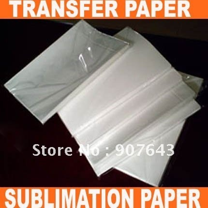 SALES/ A4 SIZE TRANSFER PAPER,SUBLIMATION PAPER FOR HEAT PRESS MACHINE(A GRADE)+FREE SHIPPING