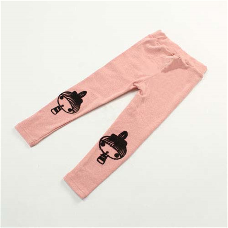 2015 spring new style little girls warm leggings baby girls long boot cut pants girls solid color skinny leggings A2142(China (Mainland))
