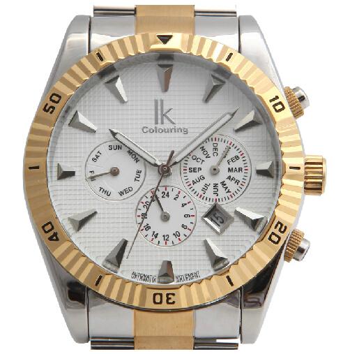 Ik для мужской моды смотреть иглы автоматические механические часы многофункциональные мужские часы 98174 г