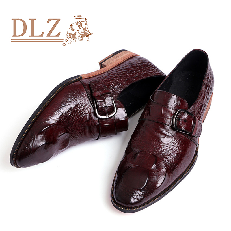 genuine leather dress shoes high quality career