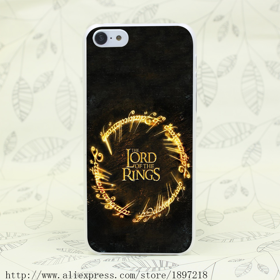 4577T The Lord Of The Rings Hard Transparent Cover Case for iphone 4 4s 5 5s 5C SE 6 6s Clear Cell Phone Cases(China (Mainland))