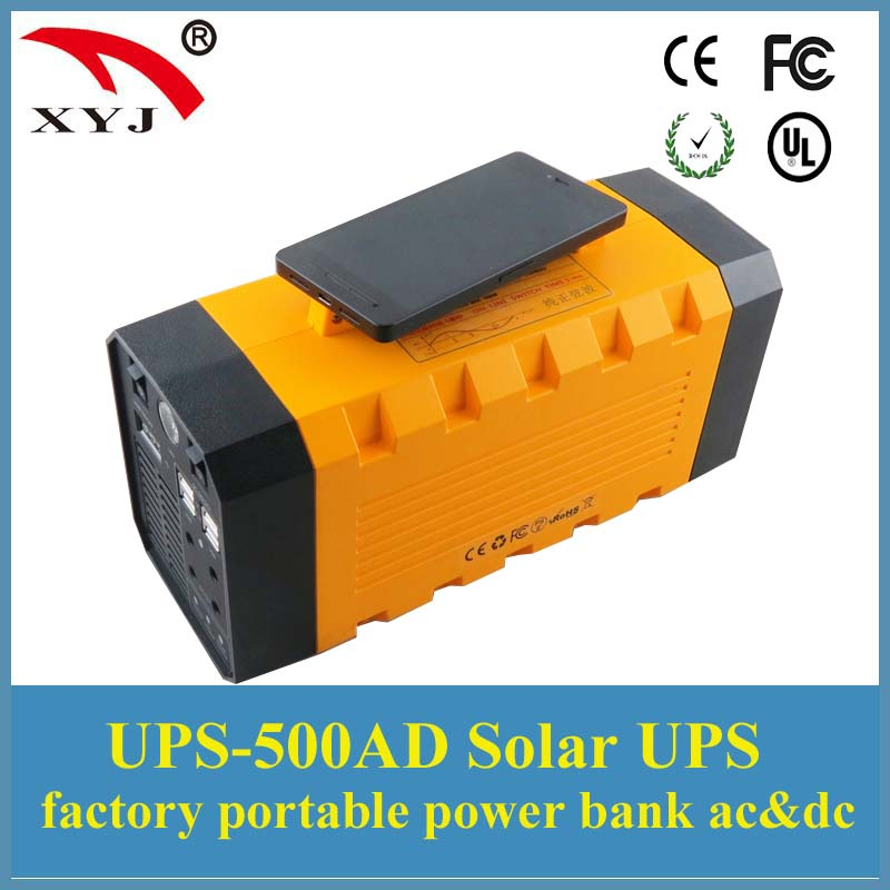 500W Portable Uninterruptible Power Supply (UPS) + 26A Power Bank External Battery for Outdoor Activities Long Time Standby(China (Mainland))