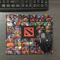 1pieces lot 100 Rubber cloth DOTA 2 mouse pad Boy Gift pad to mouse notbook