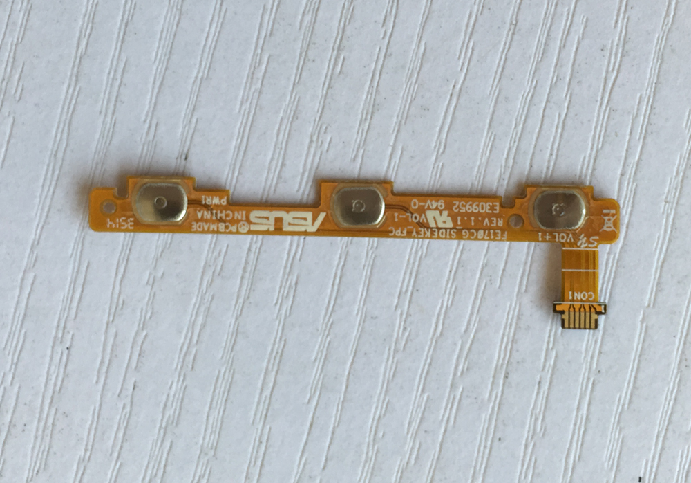 test good Use parts FE170CG_SIDEKEY_FPC Power Flex Cable Volume Button Side Key For Asus Fonepad 7 FE170CG ME170C K012 ME170CX(China (Mainland))