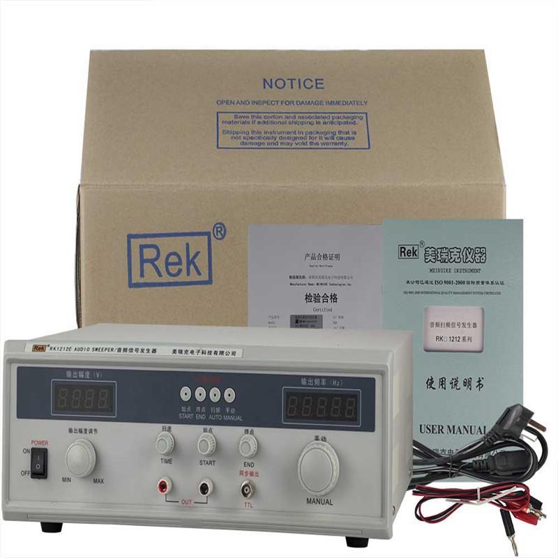 Rek 60W Audio frequency sweep signal generator Rk1212E Digital display frequency sweep meter<br><br>Aliexpress