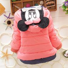 2015 children outerwear cotton winter Hooded coats Jacket Kids Coat children winter Girls clothing sets Down