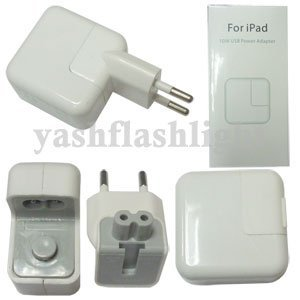 freeshipping 5pcs/lot 10W USB Power Adapter for ipad /iPhone 2G 3G 3GS 4G  with retail box