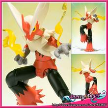Japanese Anime Original Bandai S.H.Figuarts Poke mon Toys Action Figures - Mega Bashamo(China (Mainland))