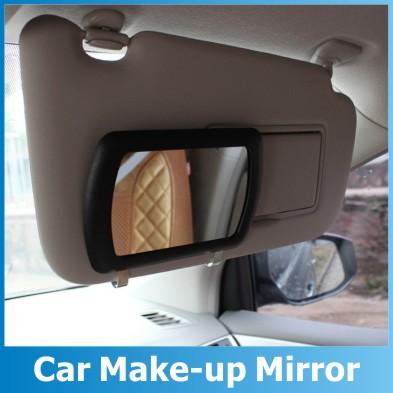 sun visor mirror large car makeup sun shading mirror car cosmetic mirror vanity mirror auto. Black Bedroom Furniture Sets. Home Design Ideas