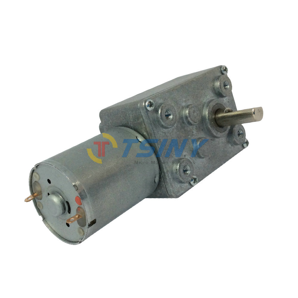 Free shipping.DC motor 12V 9rpm/8kg.cm dc gear motor,gear reduction worm motor small low rpm motors(China (Mainland))