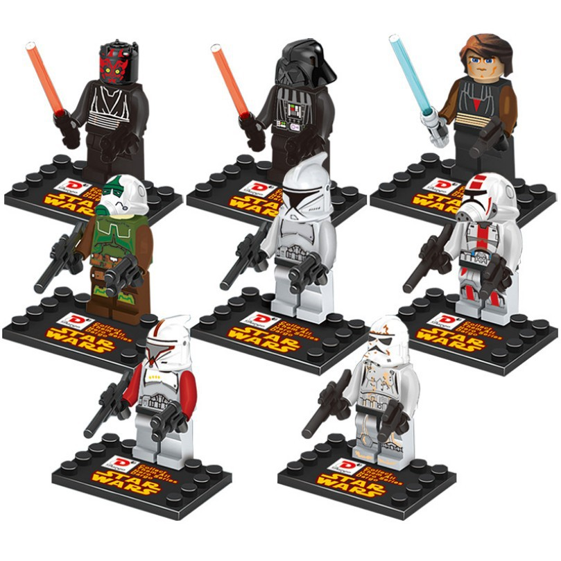 Star Wars Series Set Minifigures Building Block Toys New Kids Gift Compatible Lego - Best Service Store A1 store
