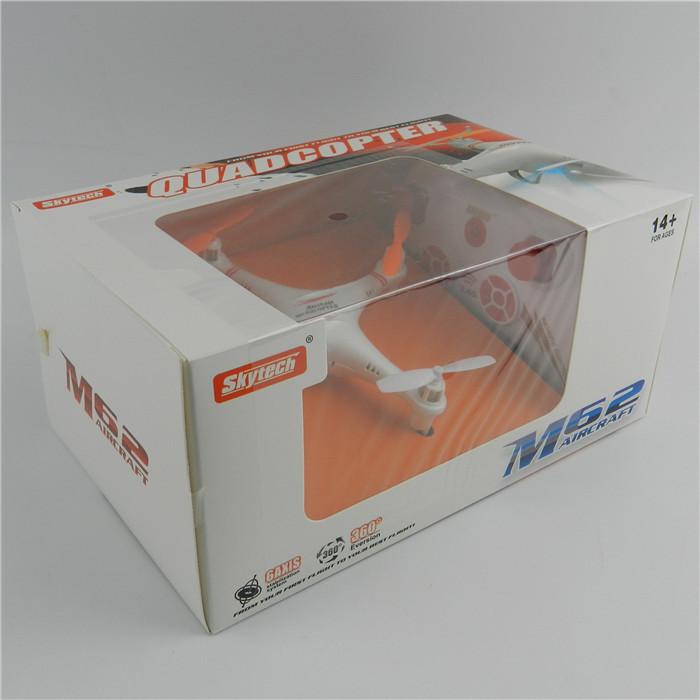 Skytech 360 Flip M62 6-Axis 4CH 2.4GHz RC Airplane Quadcopter GB US AU DE CN 1PCS Local Shipping(China (Mainland))