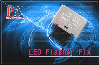 1 x LED Turn Signal Flasher Relay Fix Signal Light fast Flash Automotive Electrical Relay(Taiwan)