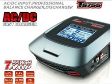 Original SKYRC T6755 AC DC Fast Inteligent Battery Balance Charger with Input Touch Screen 55W 1-6S Charger/Discharger