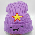 2015 new Winter Women Hat Warm Knitted beanies Five pointed star Beanie fashion Hat Cap for
