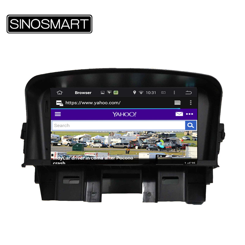 Android 5.1 car DVD GPS Navigation for Chevrolet Cruze 7 inch Capacitive Touch Screen 1.6GHz CPU Supports Onstar 3G OBD Tool(Hong Kong)