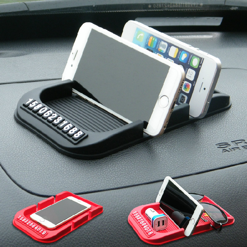 New Universal Car Dashboard Anti Slip Mat Non-slip Pad For Key Cell Phone Iphone Smart Mobile phone Parking GPS Holders
