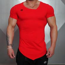 Buy New Design Male Novelty Men T shirt Fashion milk silk Oblique v-neck Hip Hop T shirt Men Casual Short Sleeves T-shirt Men Br for $7.89 in AliExpress store