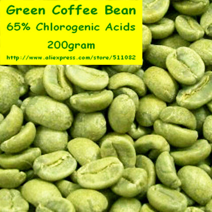 200gram Green Coffee Bean Extract 65 Chlorogenic Acids Powder free shipping