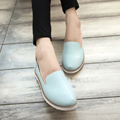 Hot Sales 2016 Spring New Western Wind Retro Little White Woman Flats College Wind Women Ladies