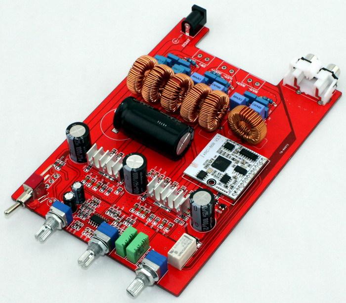 Free shipping TPA3116 2.1 Bluetooth amplifier board (100W + 50 * 2) Fever 1875 Subwoofer class d power amplifier board<br><br>Aliexpress