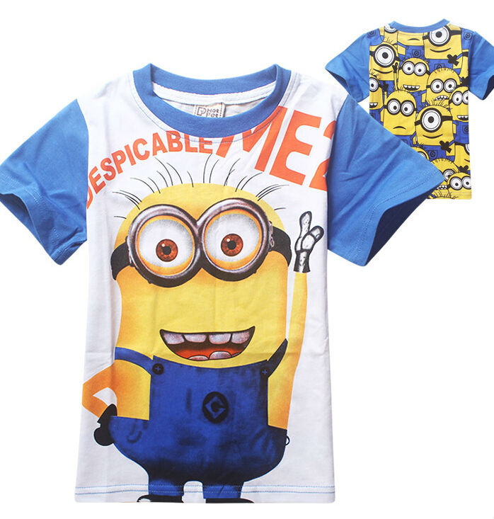 Be Unique. Shop minions kids t-shirts created by independent artists from around the globe. We print the highest quality minions kids t-shirts on the internet.
