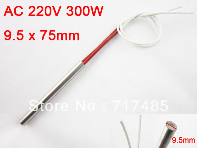 AC 220V 300 Watt Mold Heating Element Cartridge Heater 9.5*75mm