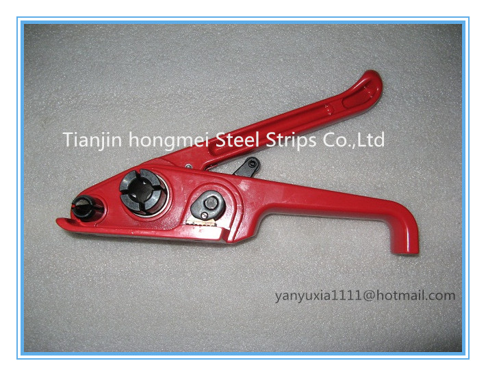 Manual Plastic PP PET belt strapping tool, Strapping tensioner equipment,package carton packing machinery 13-19mm - Tianjin Hongmei Steel Strips Co., Ltd. store