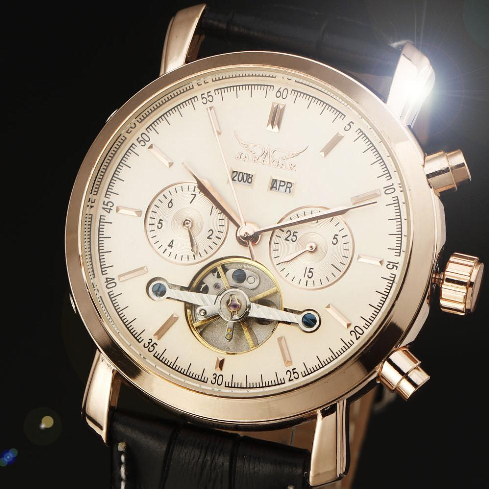 2015 new fashion winner brand design men luxury clock classic stylish business high quality mechanical self wind wrist watch(China (Mainland))